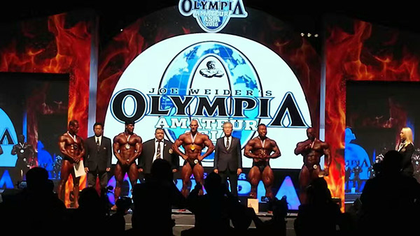 2016 Olympia Amateur Asia in Hong Kong